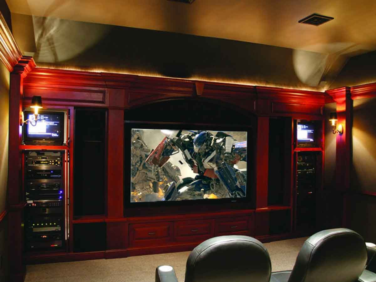 smart home system home theater installation