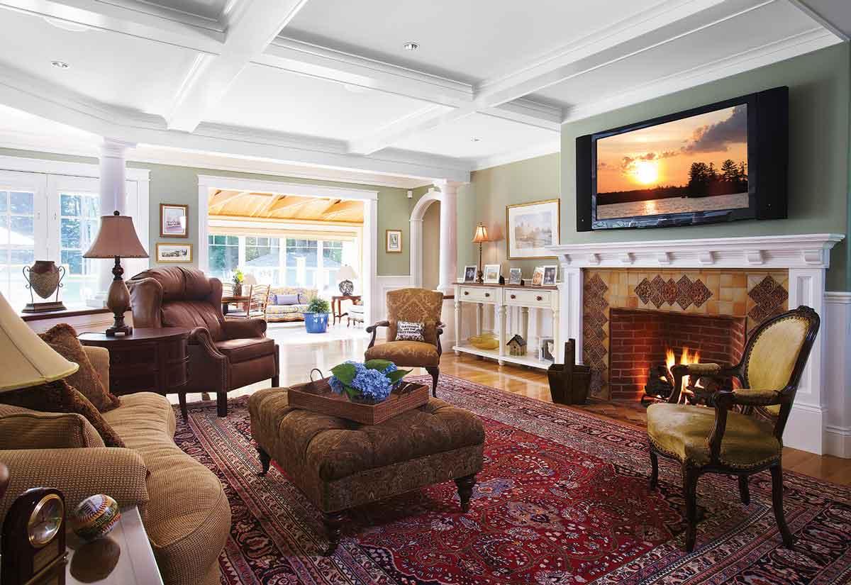 smart home system media room