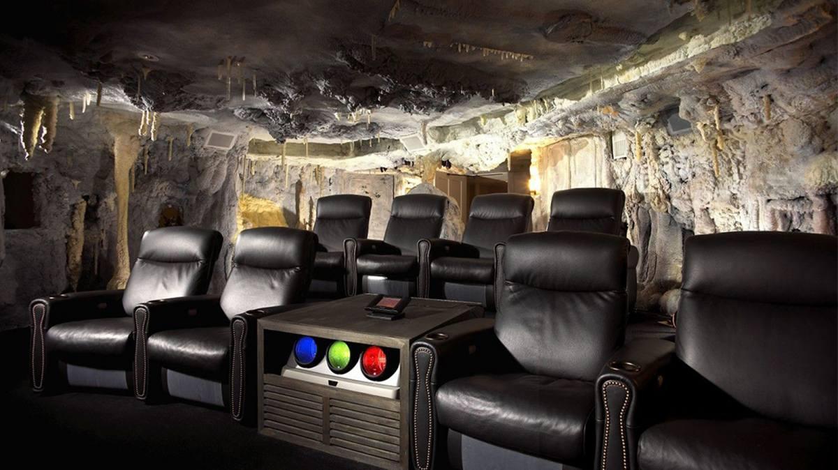 batcave theater installation