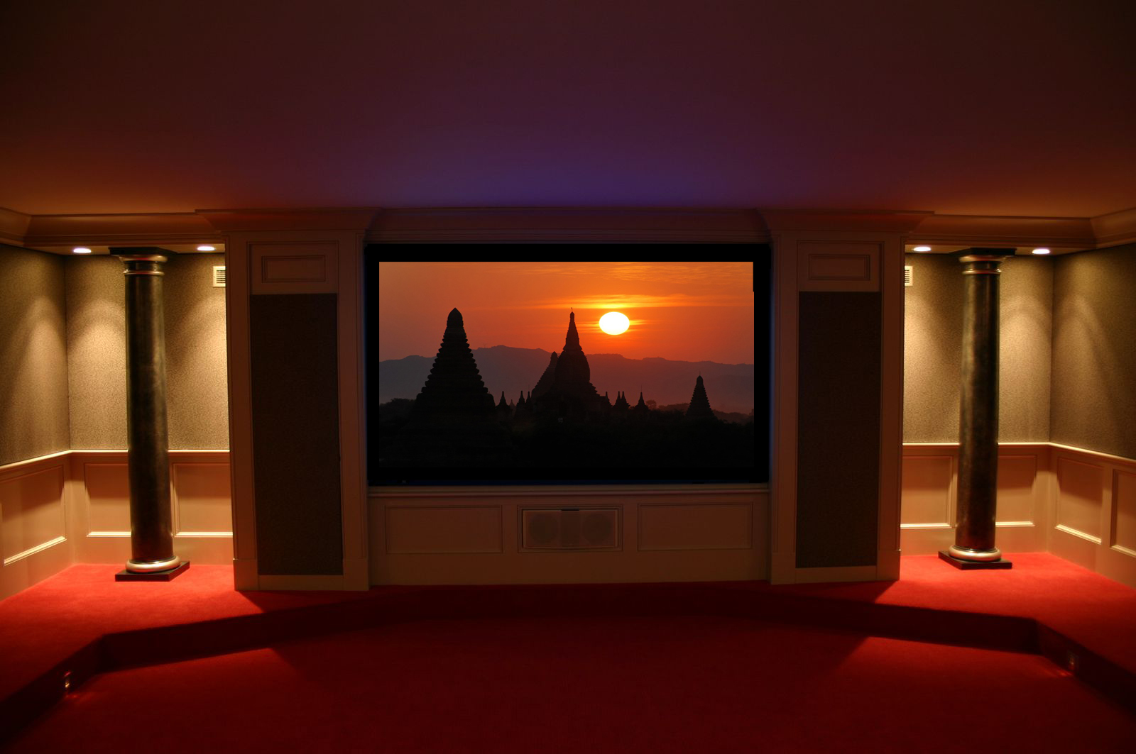 dramatic home theater