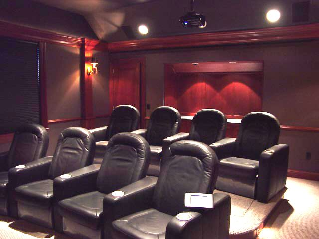 Home Theater with Casual comfort