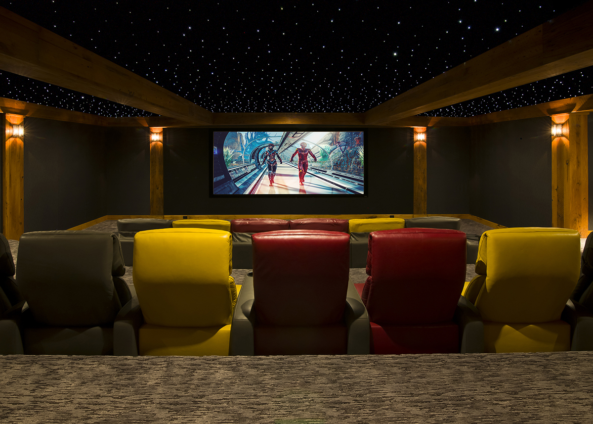 smart home home theater