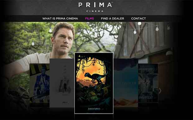 Prima Cinema at DC Home Systems