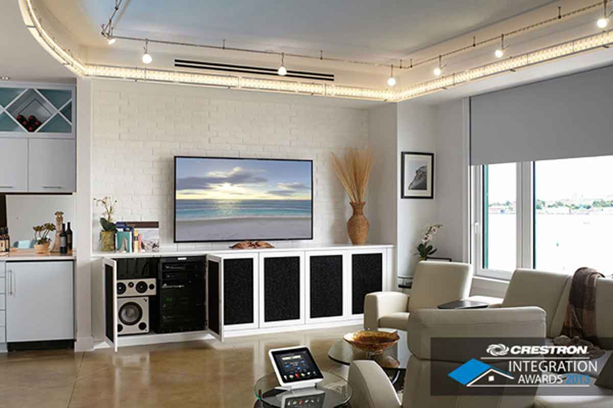 smart home system crestron home automation