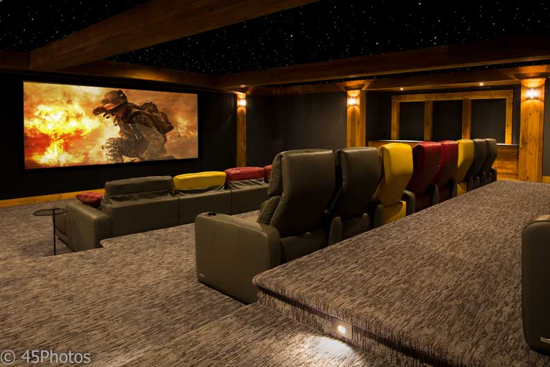 automated home systems home theater