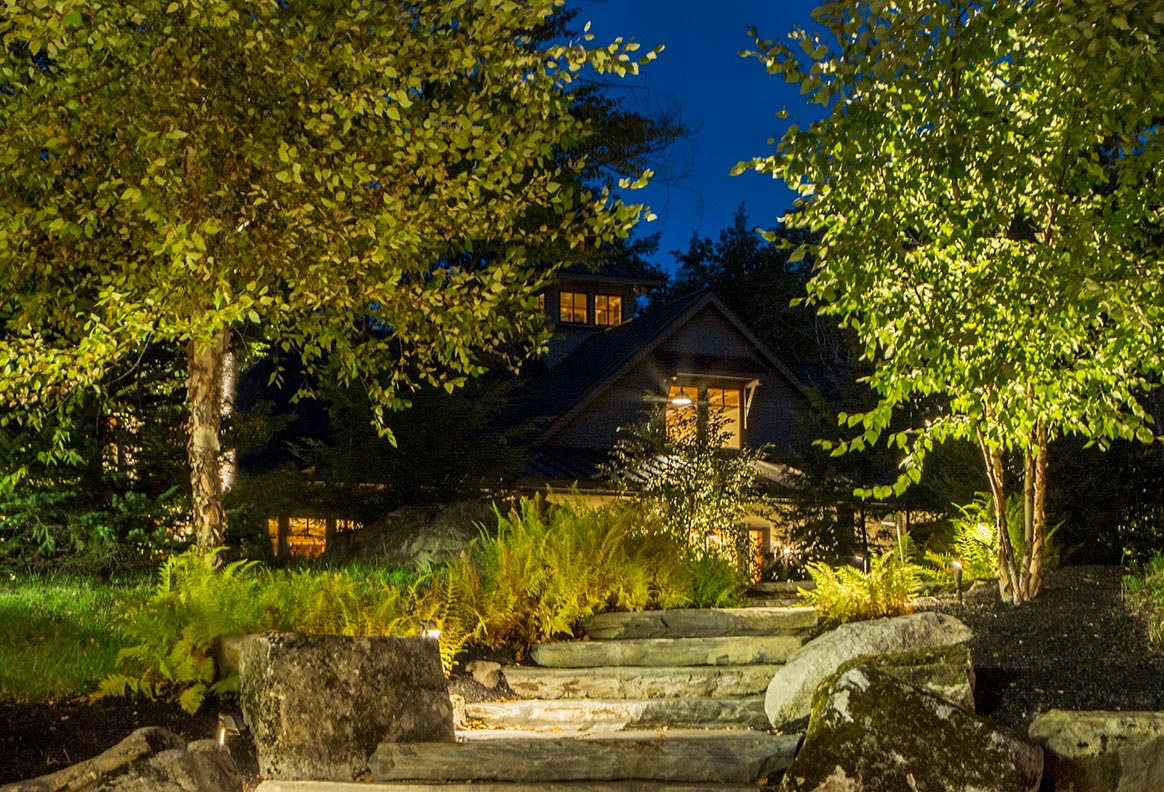 Outdoor Lighting and Audio Automation