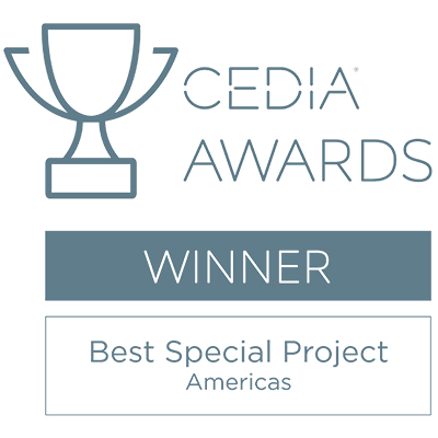 CEDIA Best Special Project Americas