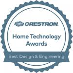 Crestron Award Best Design and Engineering